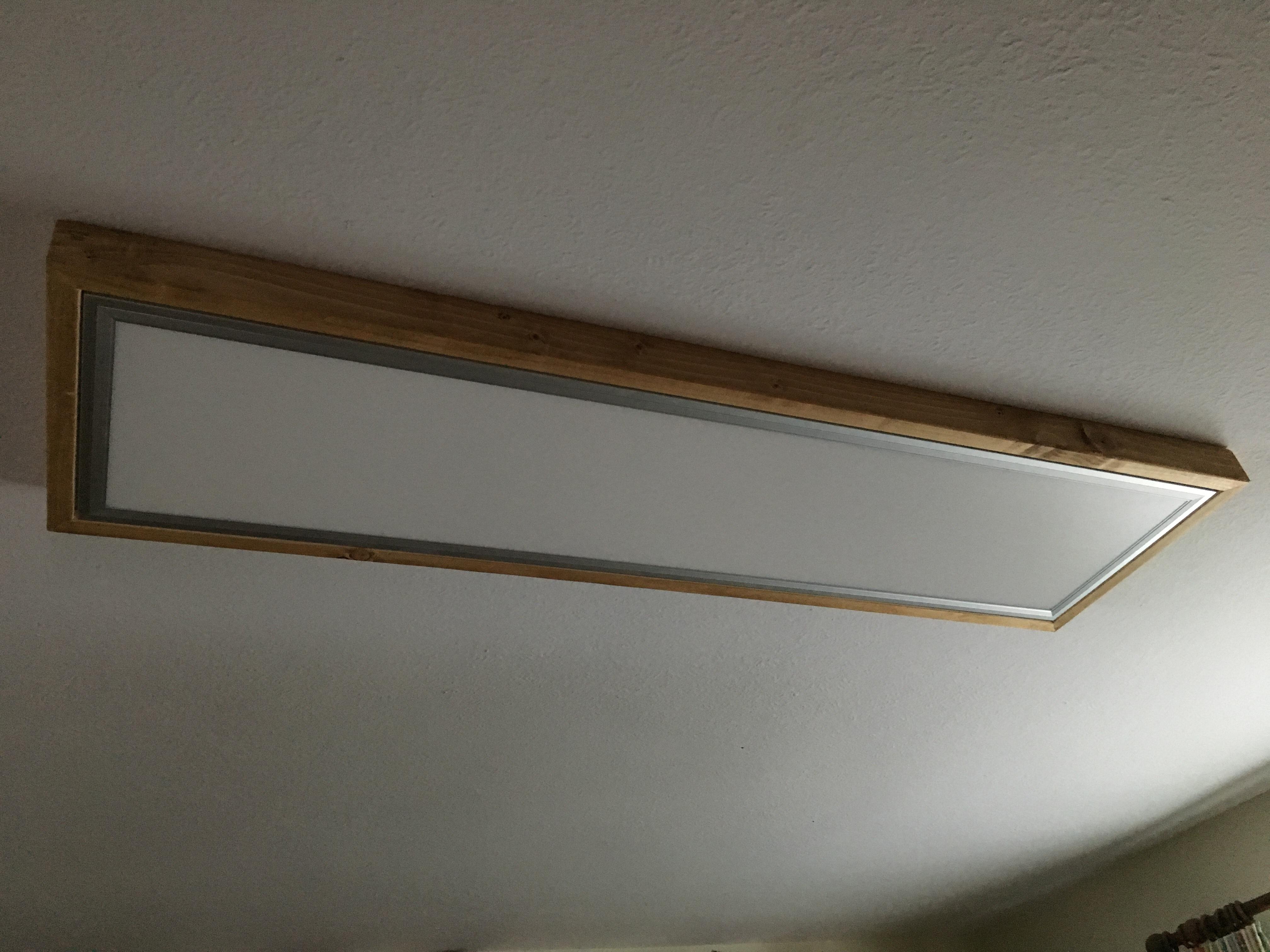 Beliebt LED Panel mit Rahmen – Achims Holzbox GK48